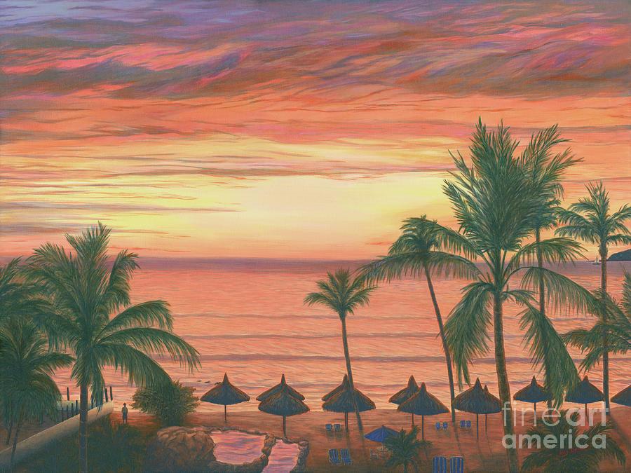 Mazatlan Sunset by Aicy Karbstein