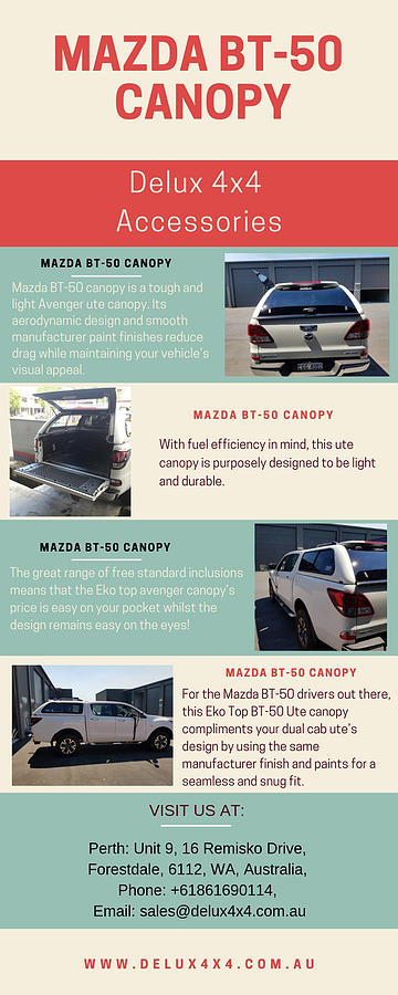 Mazda Bt-50 Canopy