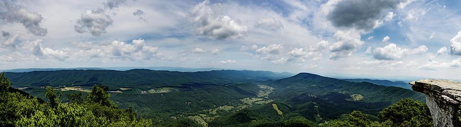 McAfee Knob Panorama by Natural Vista Photo - Matt Sexton