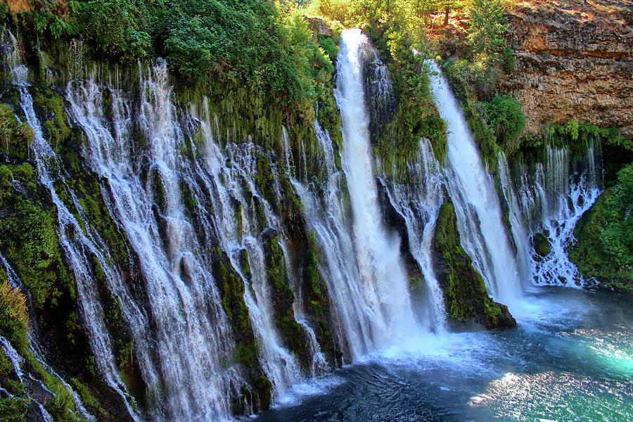 McArthur Burney Falls by Robert Blandy Jr