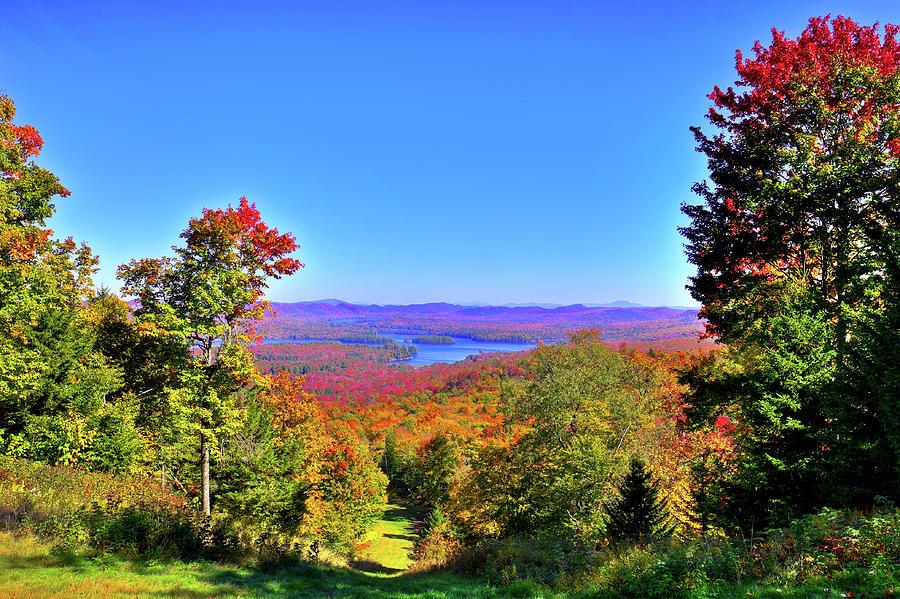 McCauley Mountain Color by David Patterson