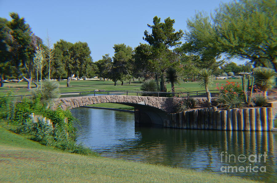 McCormick Ranch - Pine Course - Hole 15 by Mary Deal