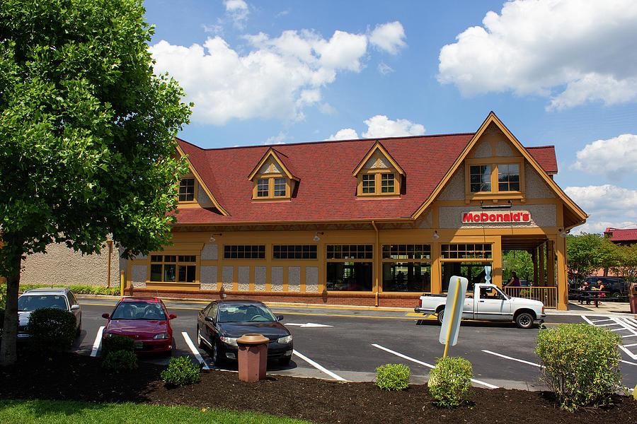 McDonald's in Asheville by Joseph C Hinson