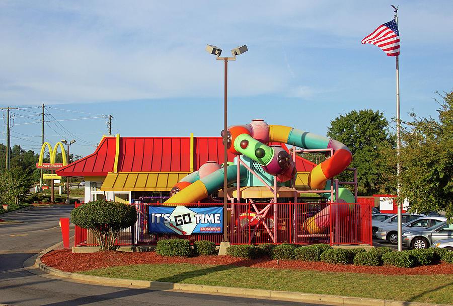 McDonald's in Columbia 1 by Joseph C Hinson