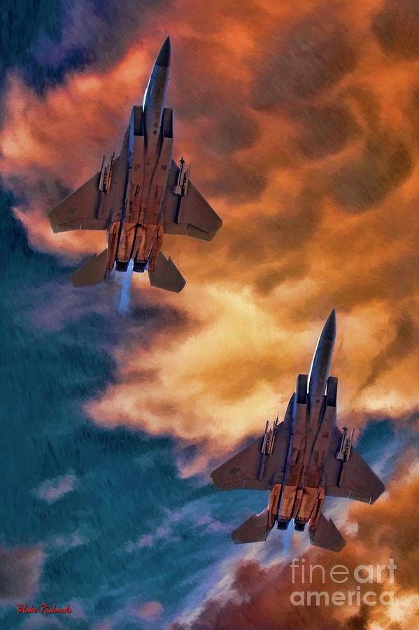 McDonnell Douglas F-15 Eagle by Blake Richards