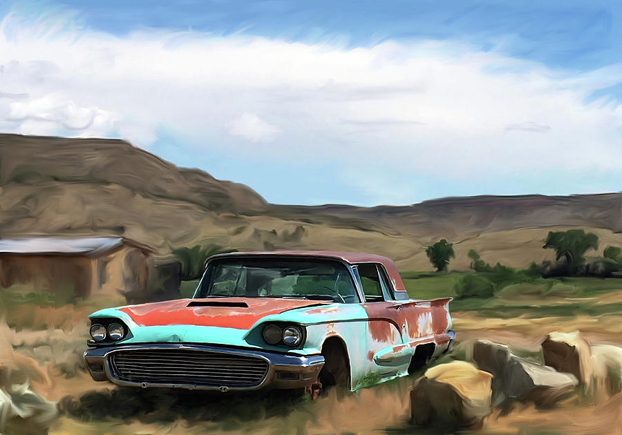 McElmo Canyon Car by Jonathan Thompson