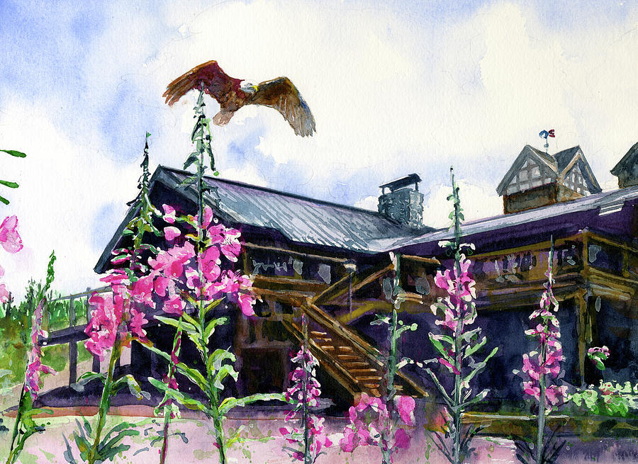 McKinley Lodge Alaska by John D Benson
