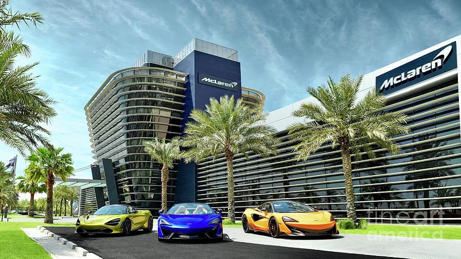 McLaren Bahrain Office  by EliteBrands Co