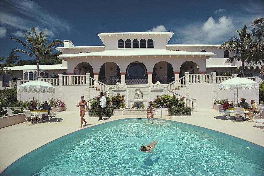 Mcmartin Villa Photograph by Slim Aarons