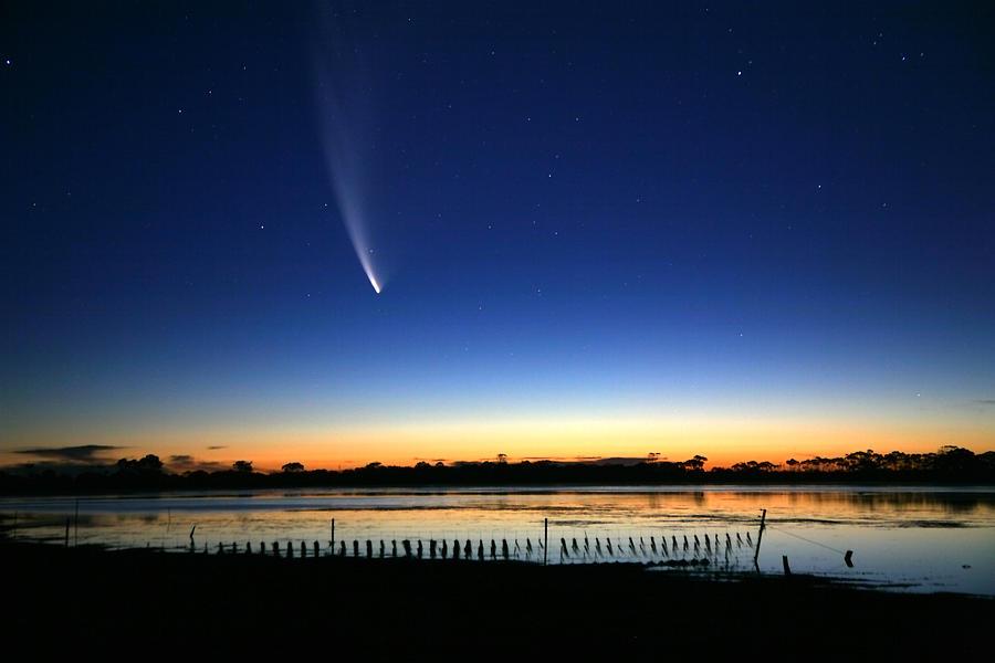 Mcnaught Comet South Australia Photograph by John White Photos