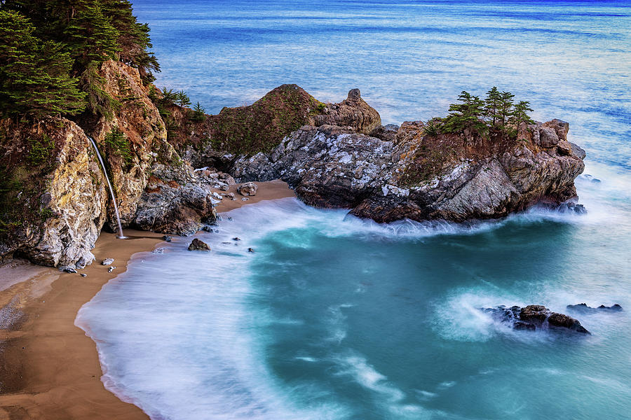 McWay Falls at Twilight by John Hight