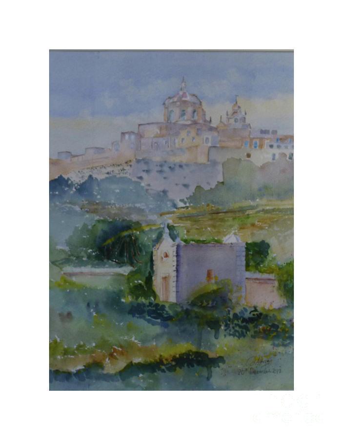 Mdina slope Malta by Godwin Cassar