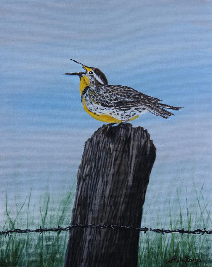 Meadowlark by Sheila Banga