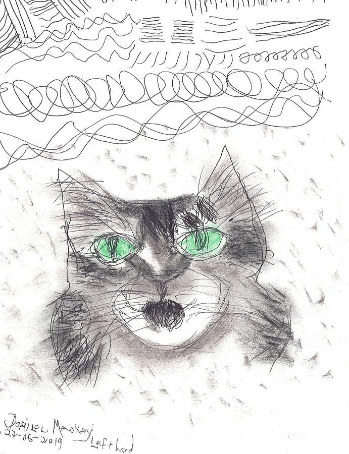 Mean Kitty by Doriel Mackay