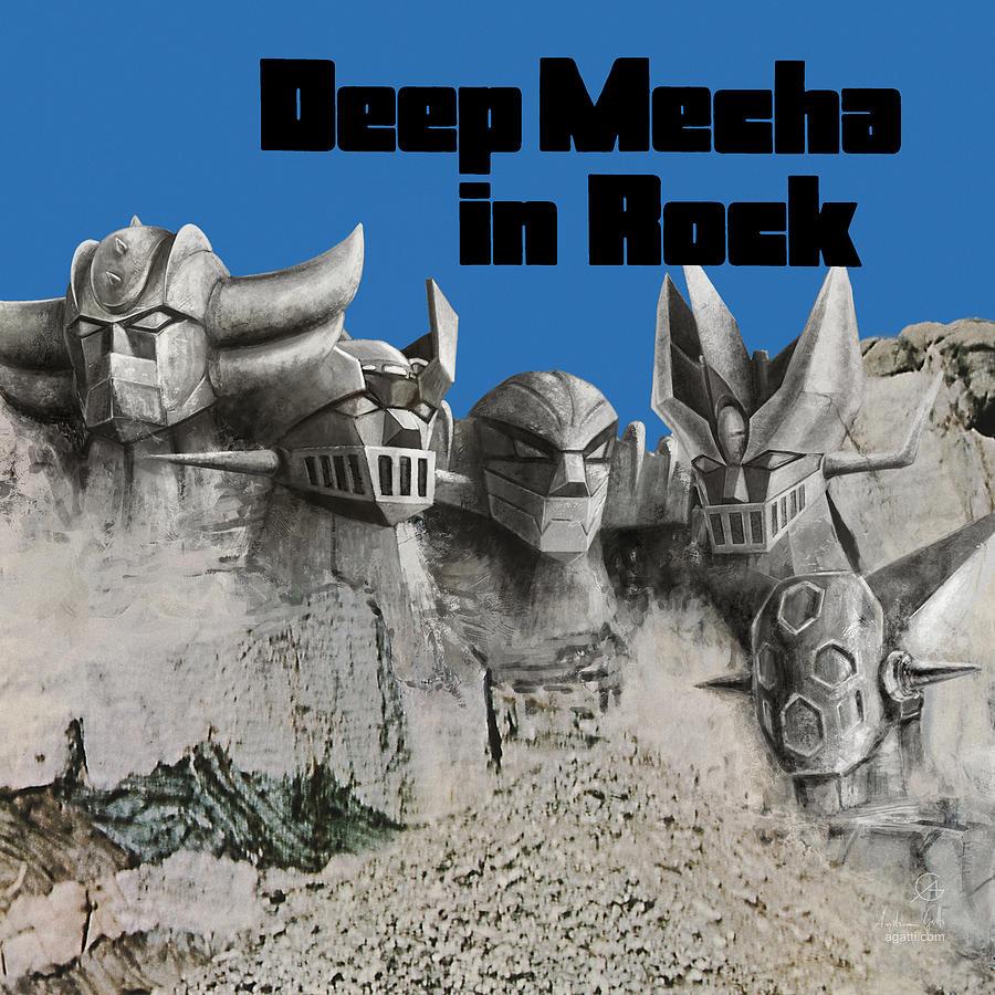 Mecha Deep In Rock Digital Art
