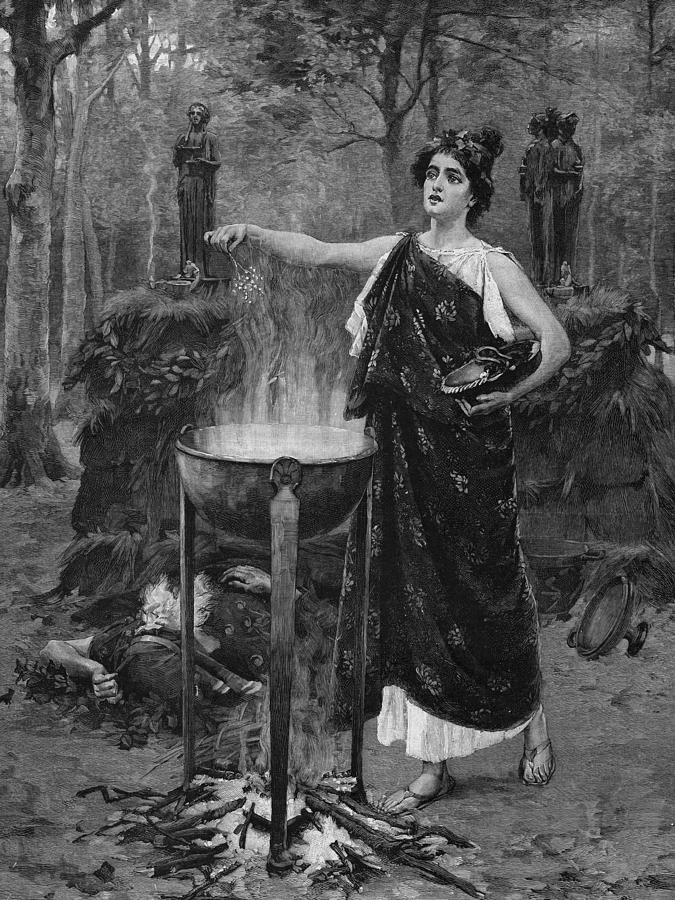 Medea Photograph by Hulton Archive