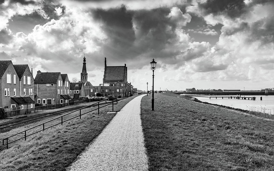 Holland Photograph - Medemblick View by Framing Places