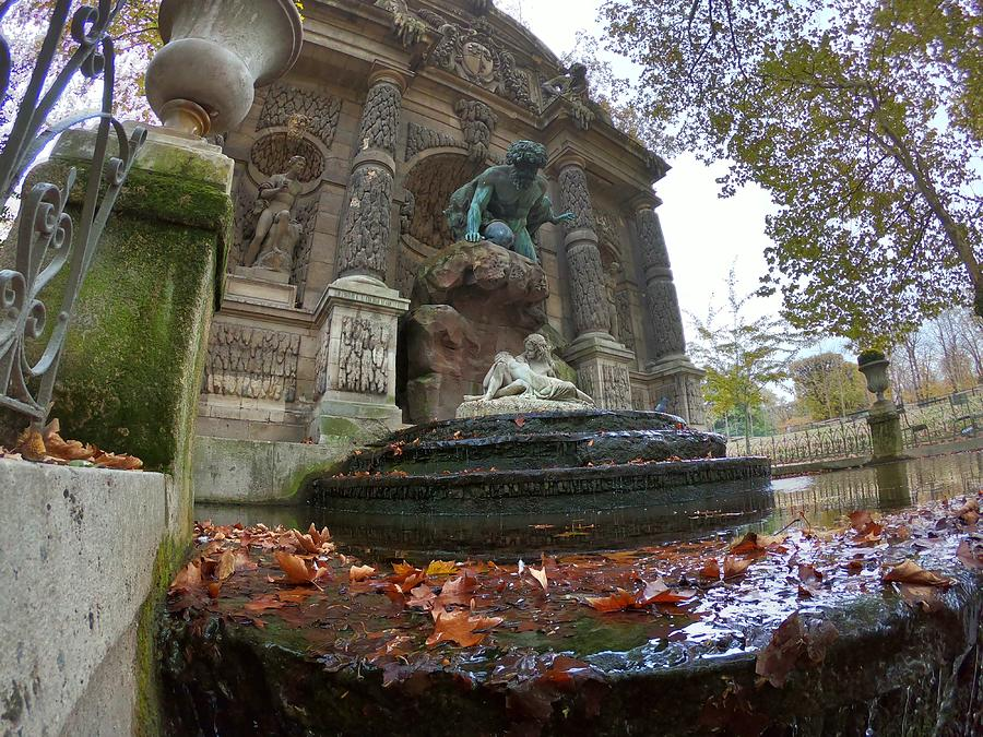 Medici Fountain - Luxembourg Gardens - Paris - France Photograph
