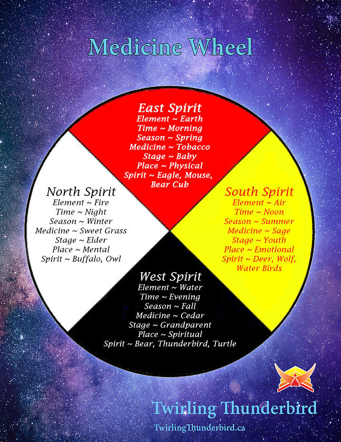 Medicine Wheel By Twirling Thunderbird Digital Art by Twirling Thunderbird