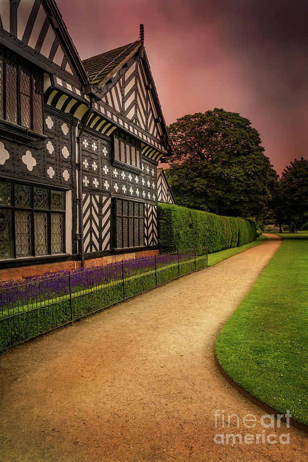 Tudor House Photograph - Medieval Architecture by Adrian Evans
