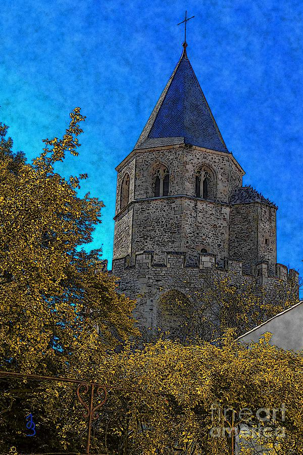 Medieval Bell Tower 3 by Jean Bernard Roussilhe