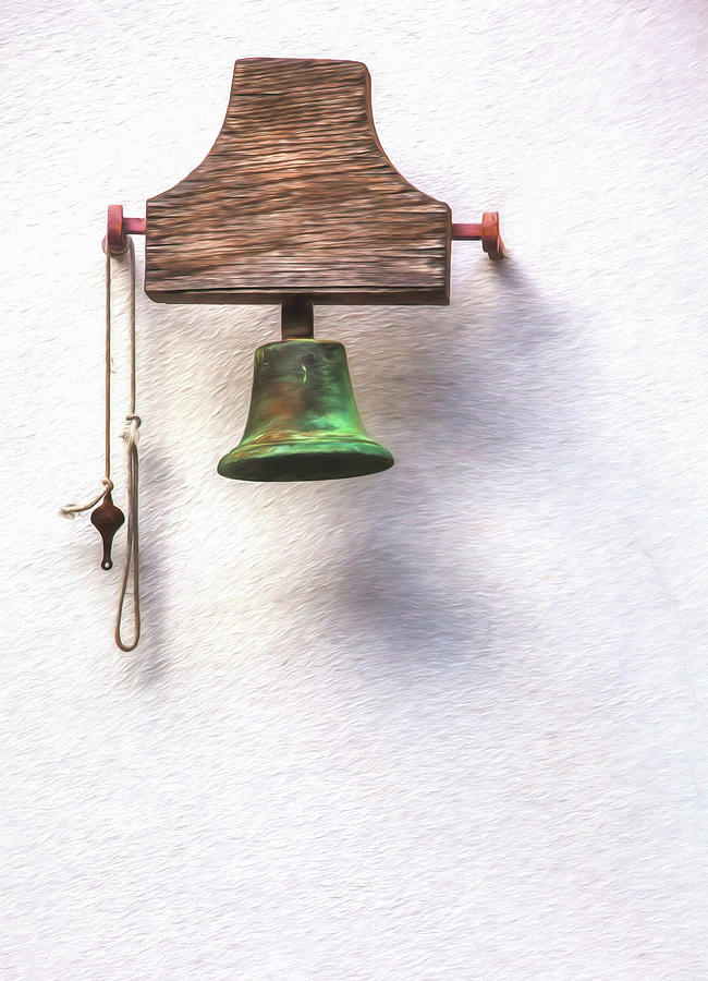 Medieval Church Bell by David Letts