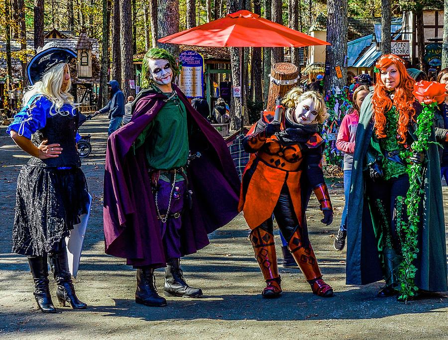 Medieval Comic Book Villains by Rodney Lee Williams