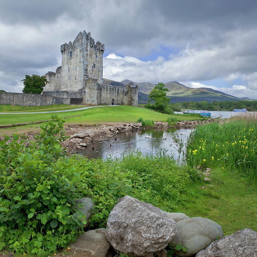 Medieval Irish Castle Photograph by Missing35mm