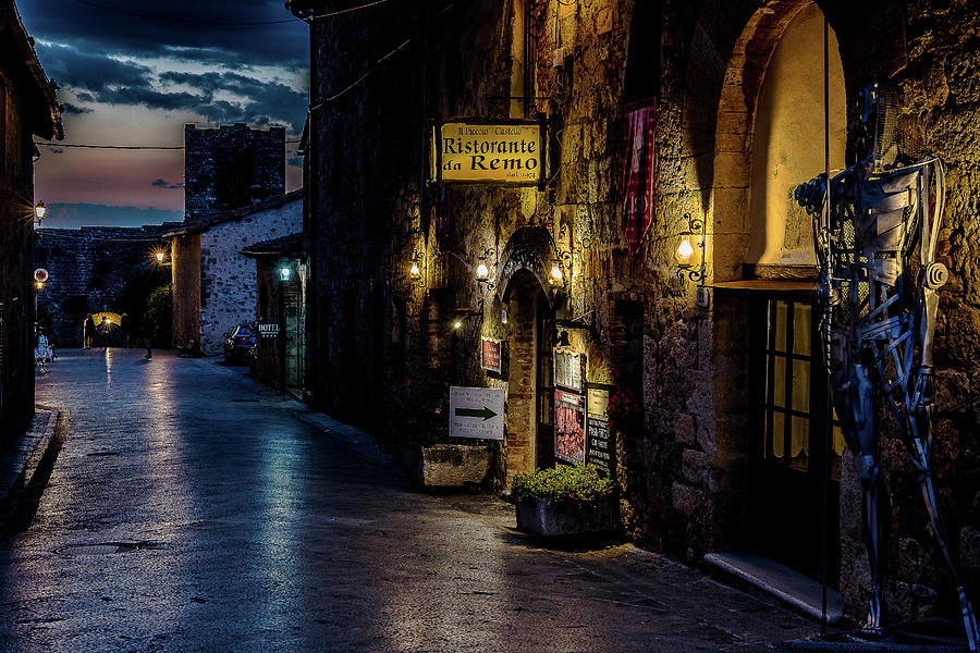 Medieval Night by Fred Greco