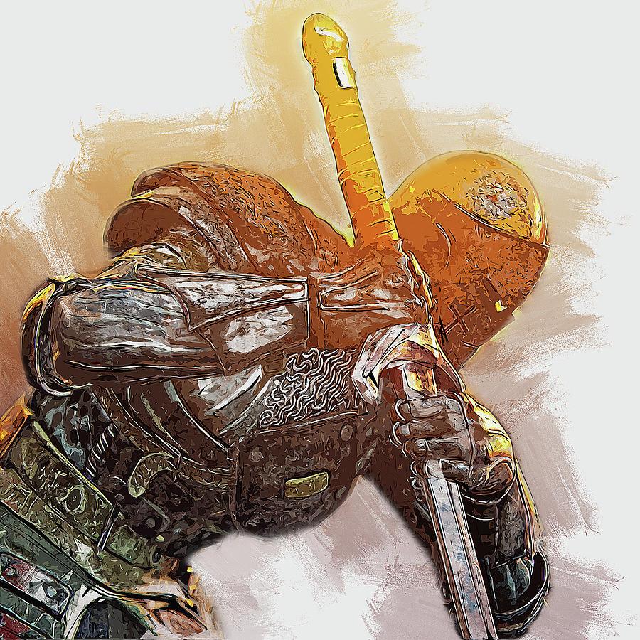 Medieval Warrior - 22 by Andrea Mazzocchetti