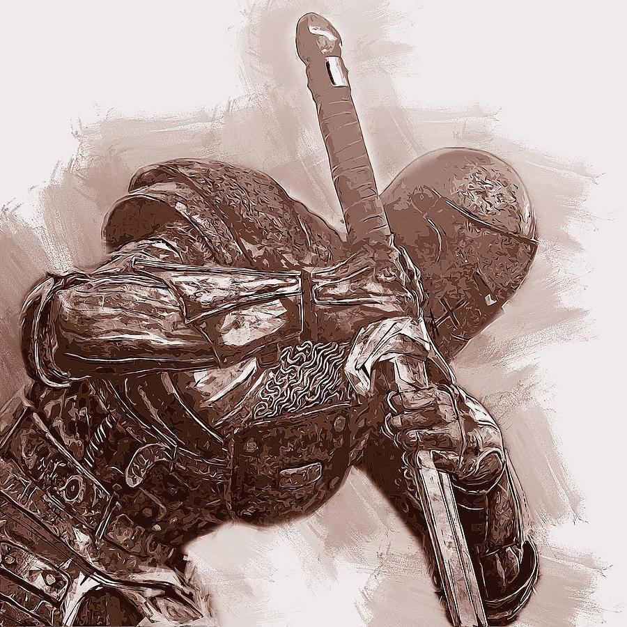 Medieval Warrior - 23 by Andrea Mazzocchetti