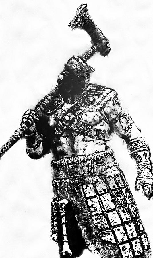 Medieval Warrior - 24 by Andrea Mazzocchetti