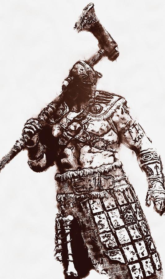 Medieval Warrior - 25 by Andrea Mazzocchetti