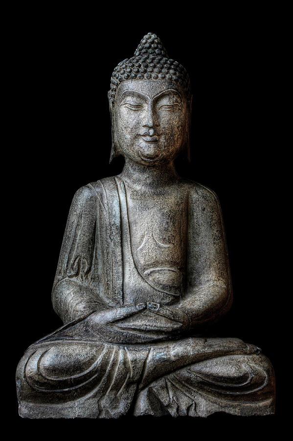 Meditating Buddha Photograph by T.light