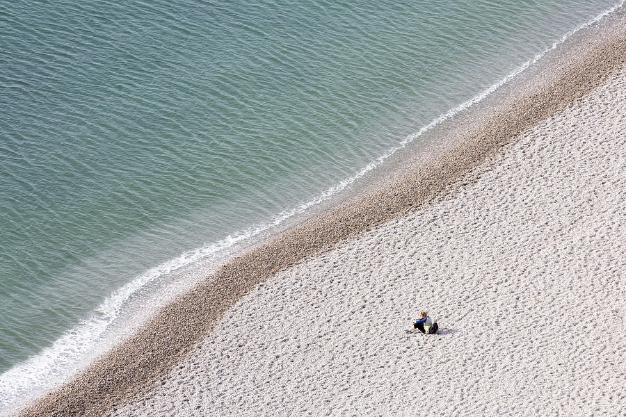 Conceptual Photograph - Meditation by Benjamine Hullot Scalvenzi
