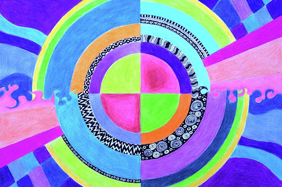 Meditation Mandala by Elizabeth Anne