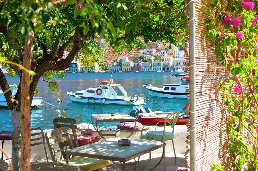 Mediterranean City by Anna Kluba