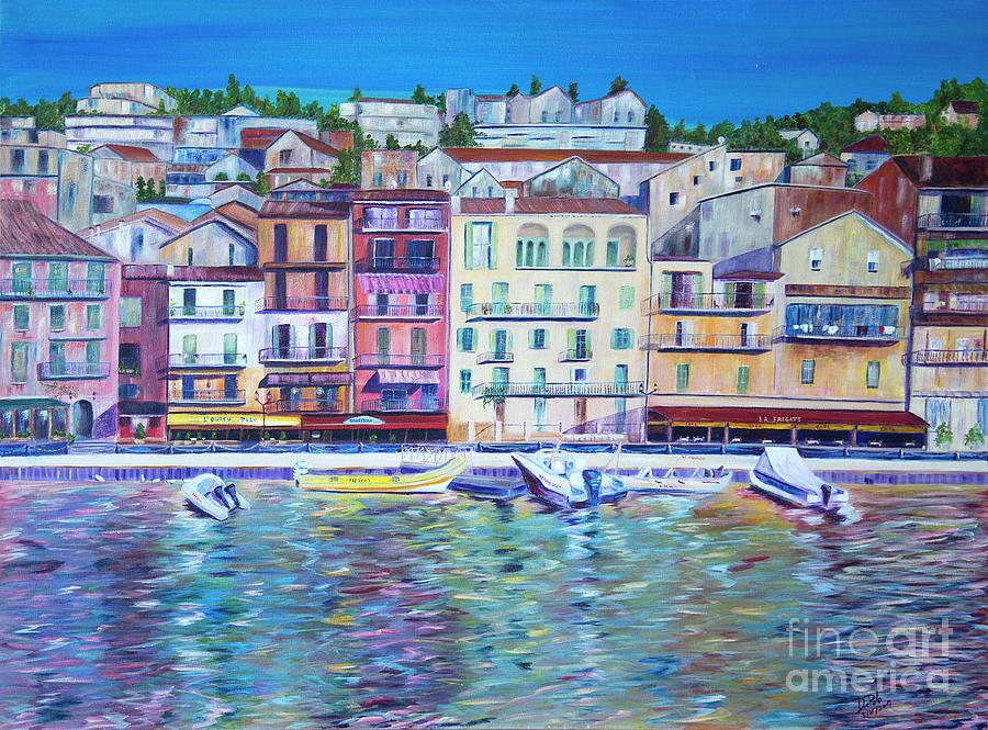 Mediterranean Morning Painting by JoAnn DePolo