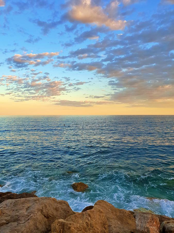 Mediterranean Sunset by Andrea Whitaker