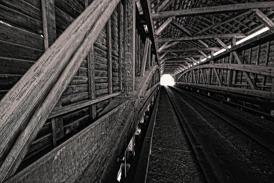 Meems Bottom covered bridge. Shenandoah Valley, VA by Bill Jonscher