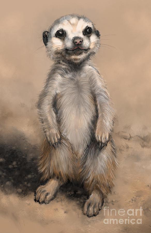 Meercat by Lora Serra