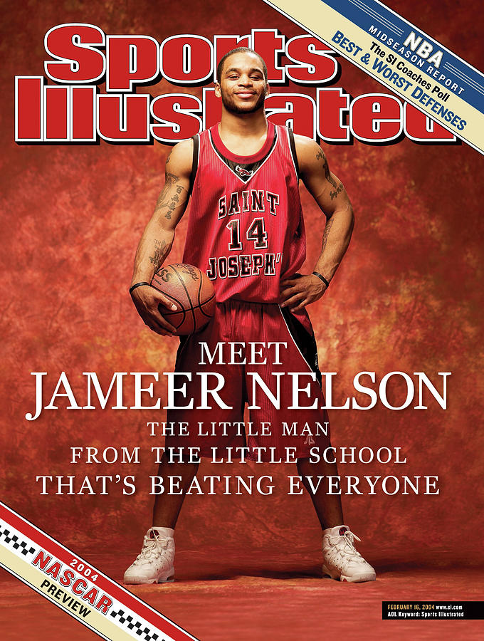 Meet Jameer Nelson The Little Man From The Little School Sports Illustrated Cover Photograph by Sports Illustrated