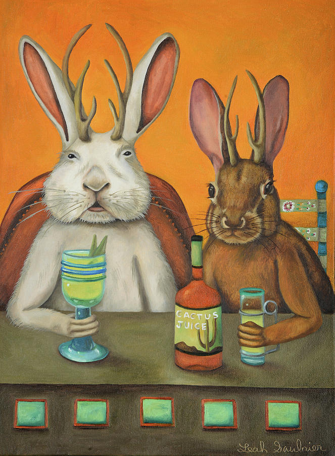 Meet The Jackalopes by Leah Saulnier The Painting Maniac