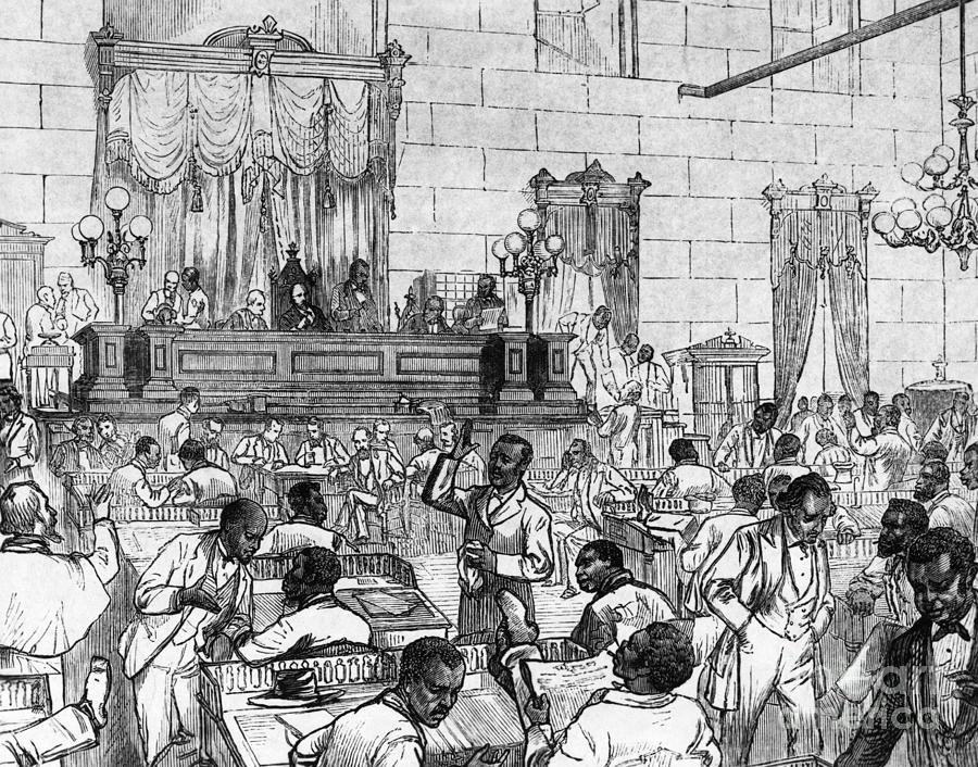 Meeting Of Legislature Photograph by Bettmann