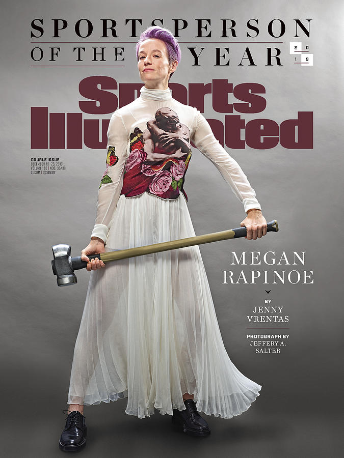Megan Rapinoe, 2019 Sportsperson Of The Year Sports Illustrated Cover Photograph by Sports Illustrated