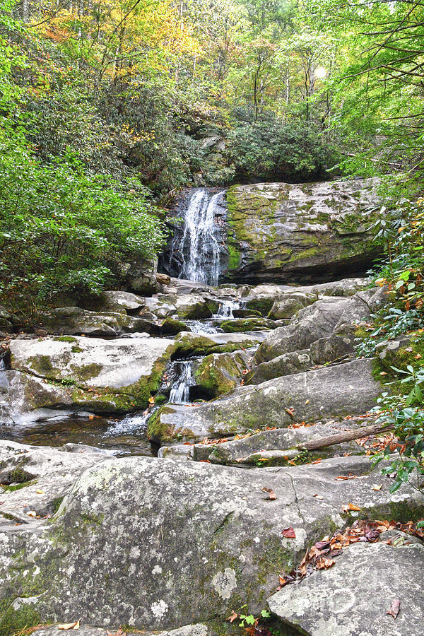 Waterfalls Photograph - Meigs Falls 4 by Phil Perkins