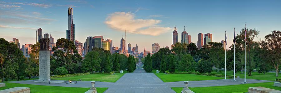 Albert Park Photograph - Melbourne by Wayne Bradbury Photography