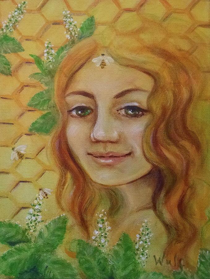 Melissa - Bee Goddess by Bernadette Wulf