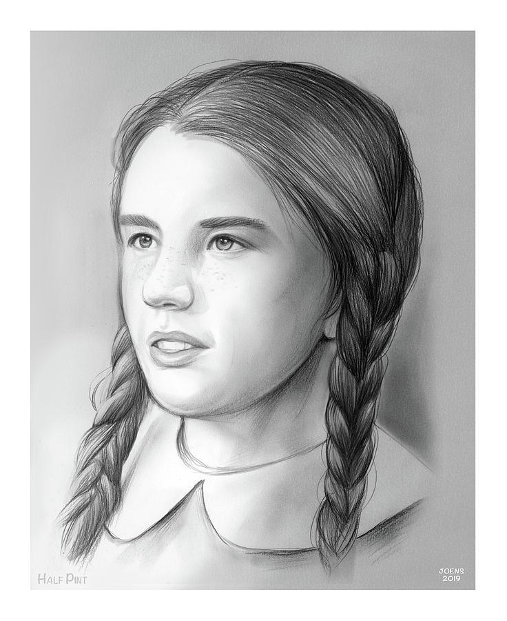 Melissa Gilbert Drawing