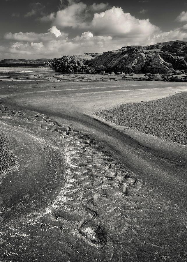 Beach Photograph - Mellangaum Sand Tracks by Dave Bowman